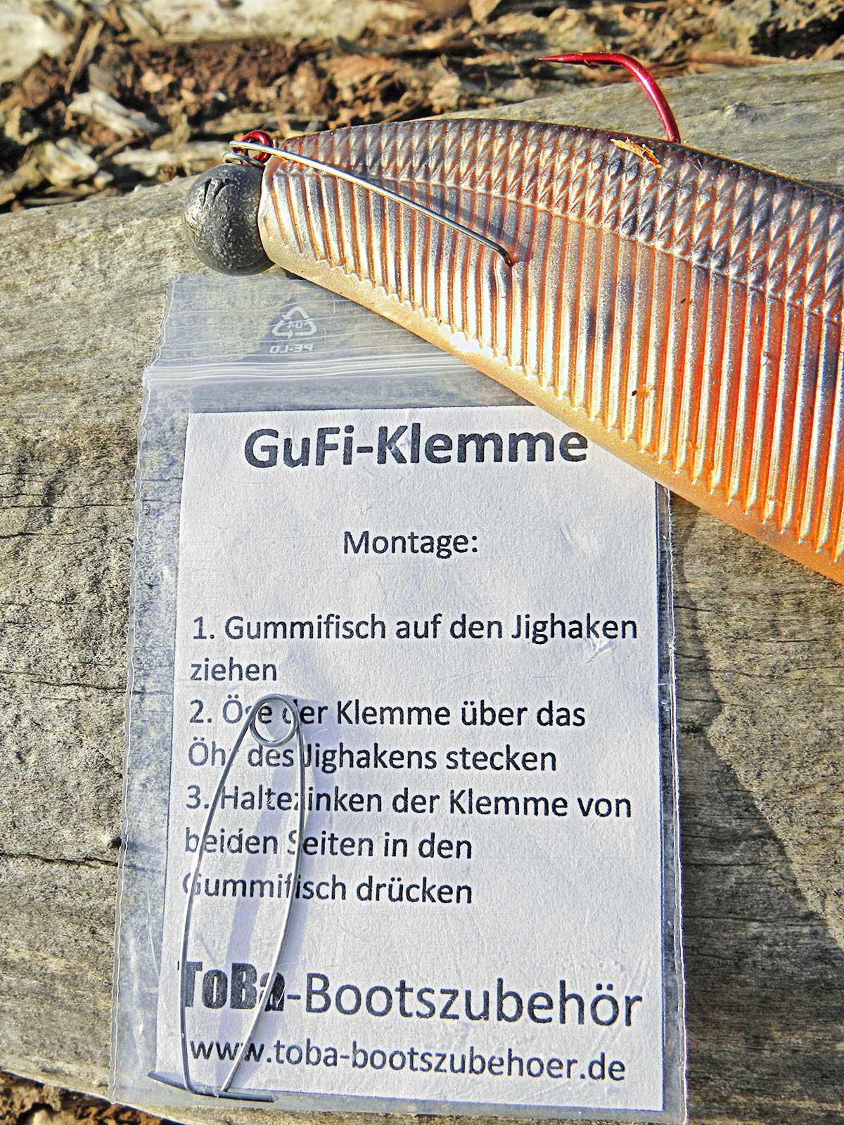 Pfiffige Idee: die GuFi-Klemmen von Torsten Barnabeck.