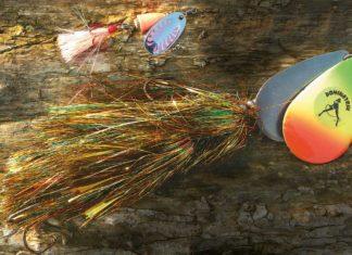 Im Vergleich zum 27 cm langen Dominatrix wirkt der 5er Spinner wie ein Winzling.