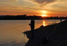 Die Nacht ist hereingebrochen, jetzt kann der Angler jederzeit mit einem Biss rechnen.